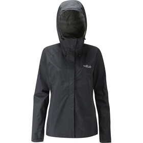 Rab Downpour Jacke Damen black